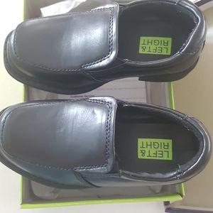 Boys formal black Loafers size 8